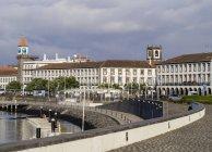 Port in Ponta Delgada — Stock Photo