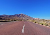 Promenade dans le Parc National de Teide — Photo de stock