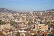 Rathaus und Architektur in Sarajewo — Stockfoto