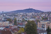 Сити Холл и архитектуры в Сараево — стоковое фото