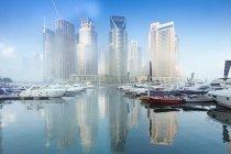 Marina complex in Dubai — Stock Photo