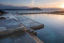 Le piscine di balneazione a La Vallette — Foto stock
