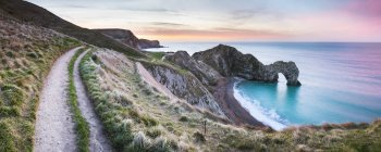 Durdle Door au lever du soleil — Photo de stock