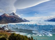 Natural Perito Moreno Glacier in Los Glaciares National Park, Santa Cruz Province, Patagonia, Argentina, South America — Stock Photo