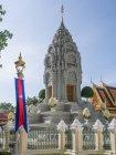 Екстер'єр гробниці королів наприкінці сестра, Королівського палацу, Пномпеня, Камбоджа, Індокитай, Південно-Східної Азії, Азії — стокове фото