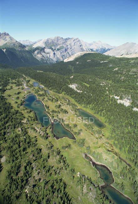 Lacs de montagnes Rocheuses — Photo de stock