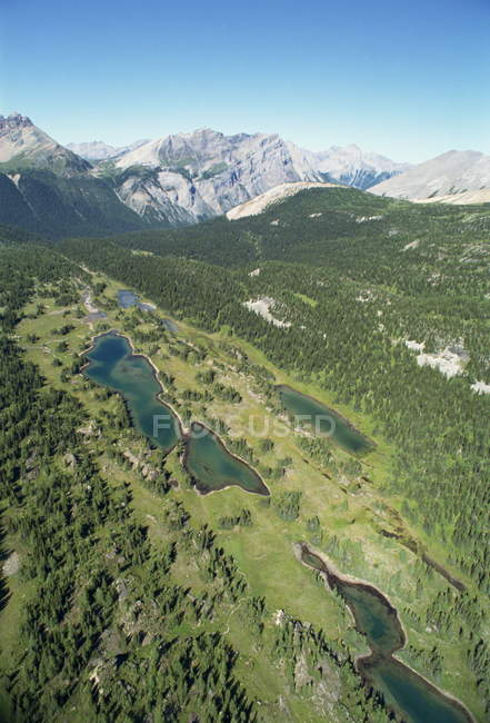 Lakes in Rocky Mountains — Stock Photo