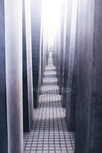 Holocaust-Mahnmal, berlin — Stockfoto