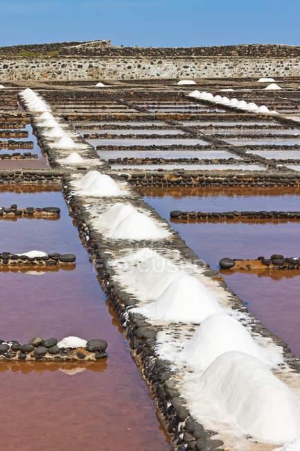 Sal de panelas, Ilhas Canárias, Espanha — Fotografia de Stock