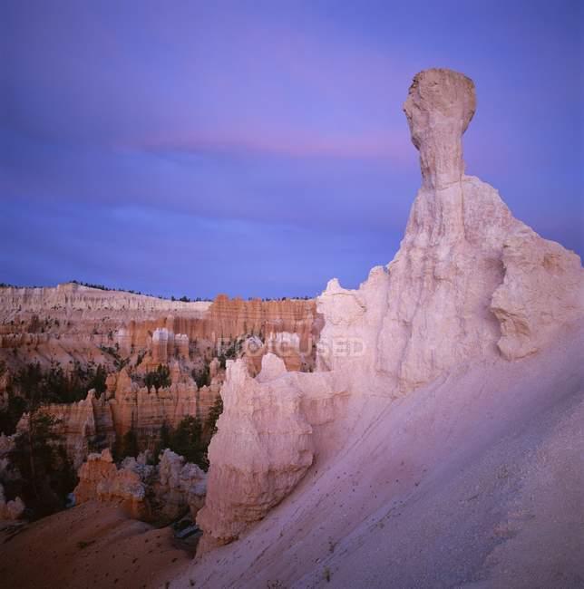 Formações rochosas erodidas — Fotografia de Stock