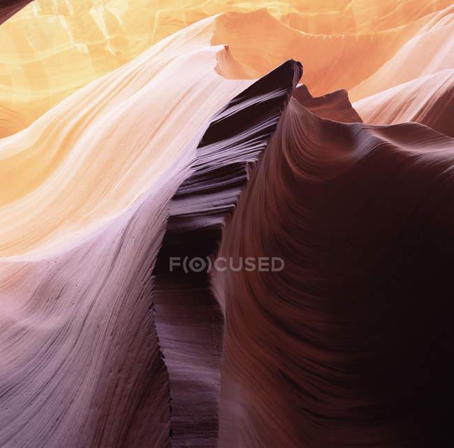 Abbassare l'antilope canyon della scanalatura — Foto stock