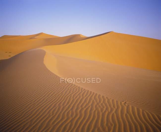 Sanddünen, Sahara — Stockfoto