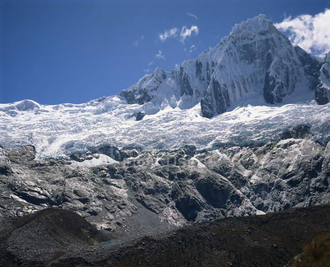 Наблюдая вид горы Tailluraju — стоковое фото
