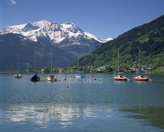 Zell am See, Hohe Tauren Region - foto de stock