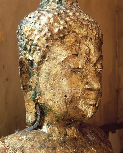 Estátua de Buda coberto de ouro — Fotografia de Stock