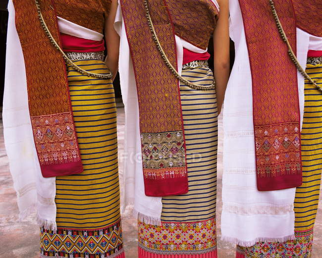 Traditionelle Nord Thai Tanz Kostüm — Stockfoto