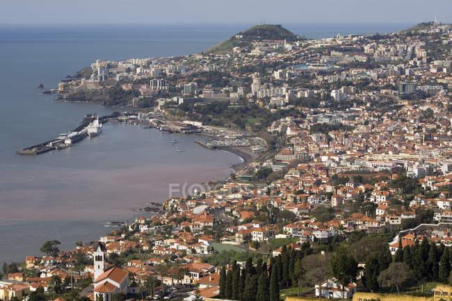 Vista sobre o Funchal, Madeira — Fotografia de Stock