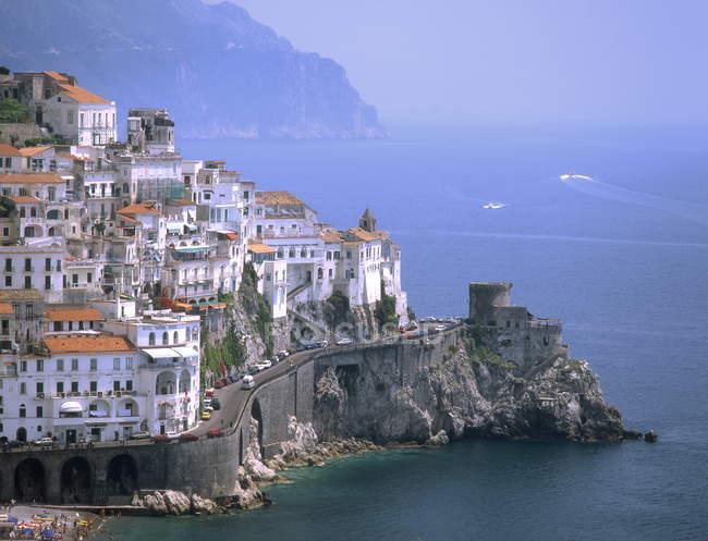 Amalfi coast Campania — Stock Photo