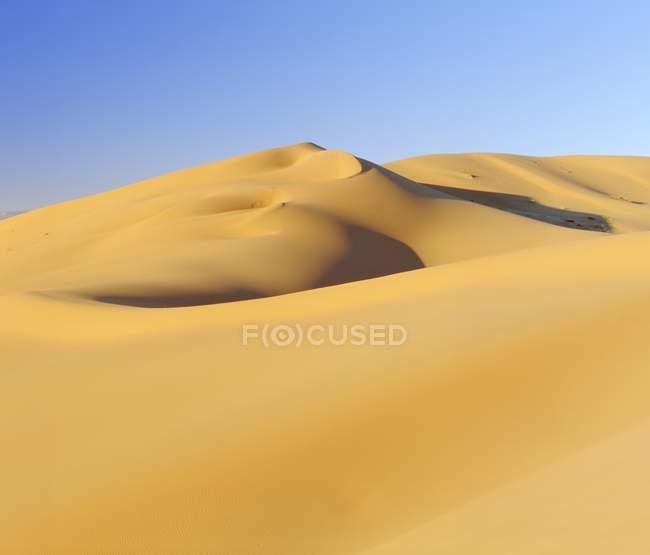 Erg Chebbi, sand dunes — Stockfoto