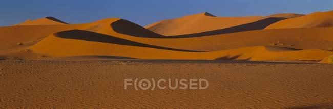 Vue panoramique des dunes — Photo de stock
