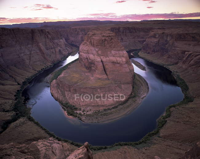 Horseshoe Bend, Colorado River — Photo de stock