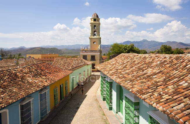 Torre de Iglesia, Cuba — Fotografia de Stock