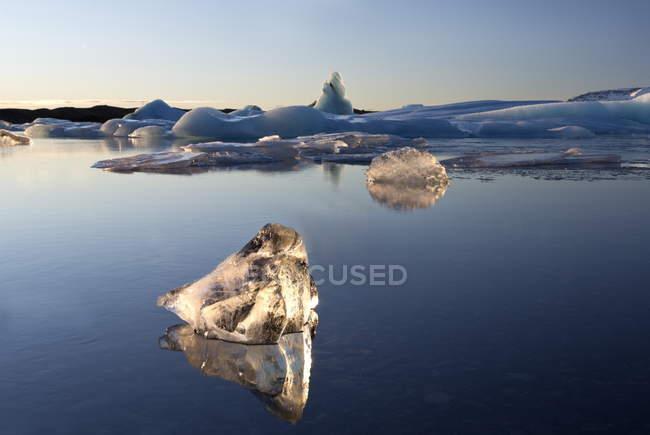 Vista degli Iceberg Jokulsarlon — Foto stock