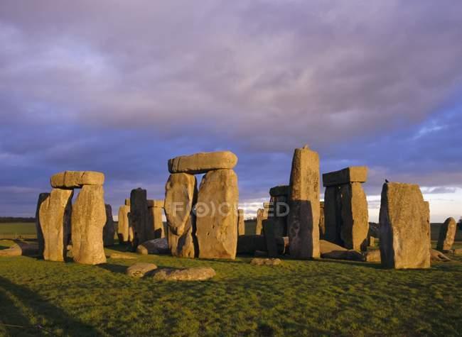 Observing view of Stonehenge — Stock Photo
