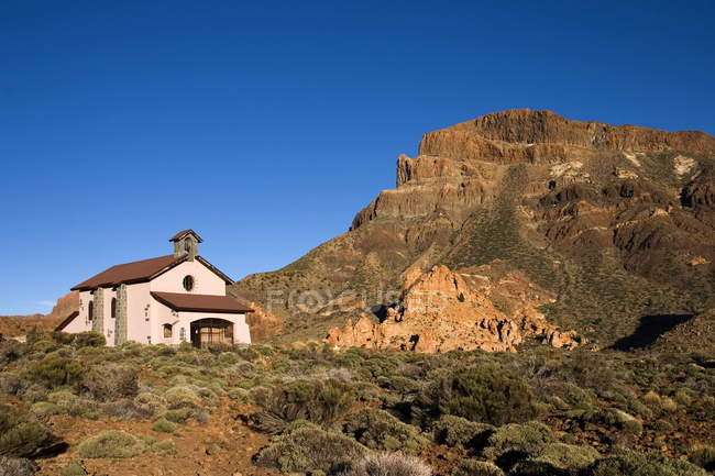 Building in Teide National Park — Stock Photo