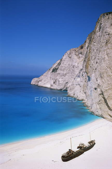 Shipwreck Cove, Kefalonia — Stock Photo