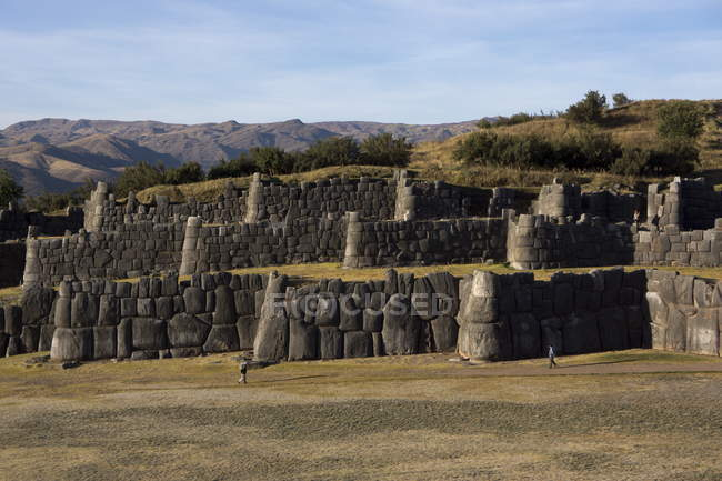 Sacsayhuaman capitale de l'empire Inca — Photo de stock