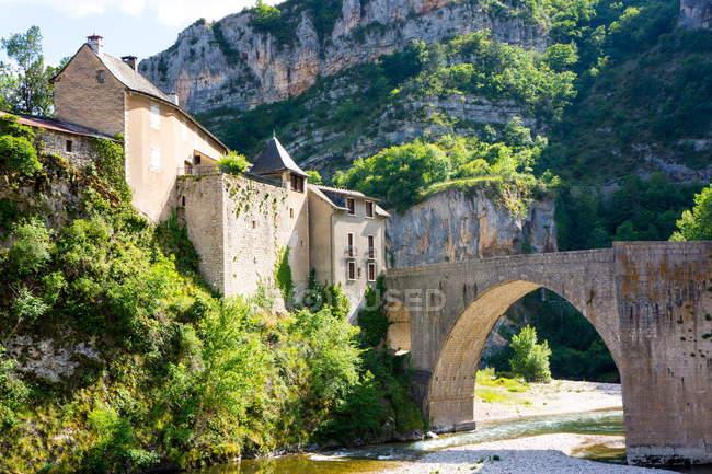 St. Enemie, Gorges du Tarn — Stock Photo