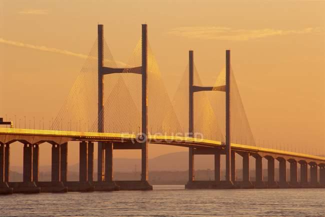 Second Severn Bridge — Stock Photo