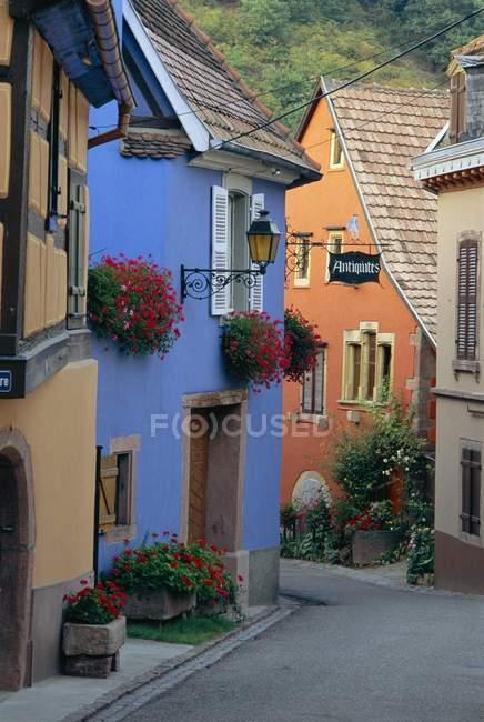 Traditional architecture of Neidermorschwir — Stock Photo