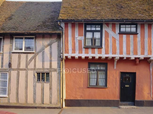 Старий стиль будинку в Lavenham — стокове фото