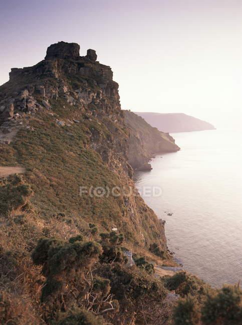 Перегляд Castle Rock — стокове фото