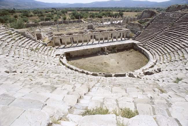 Teatro Romano, sítio arqueológico — Fotografia de Stock