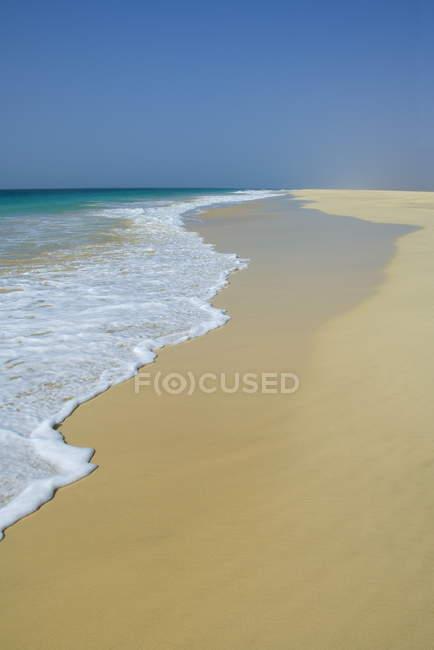 Santa Monica Beach, Capo Verde — Foto stock