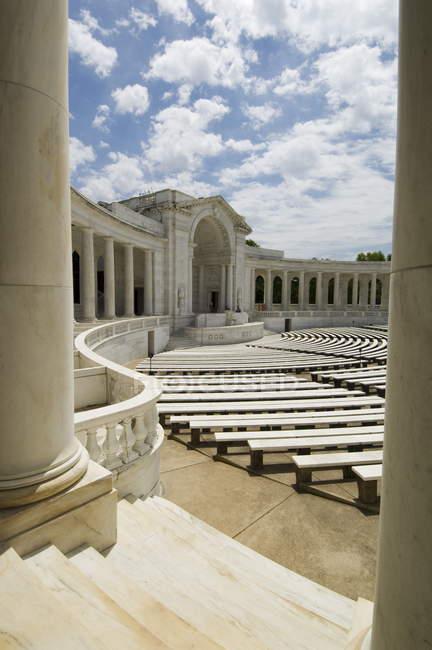 Anfiteatro di Memorial, cimitero nazionale di Arlington — Foto stock