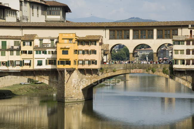 Ponte Vecchio, famous bridge, Florence — Stock Photo