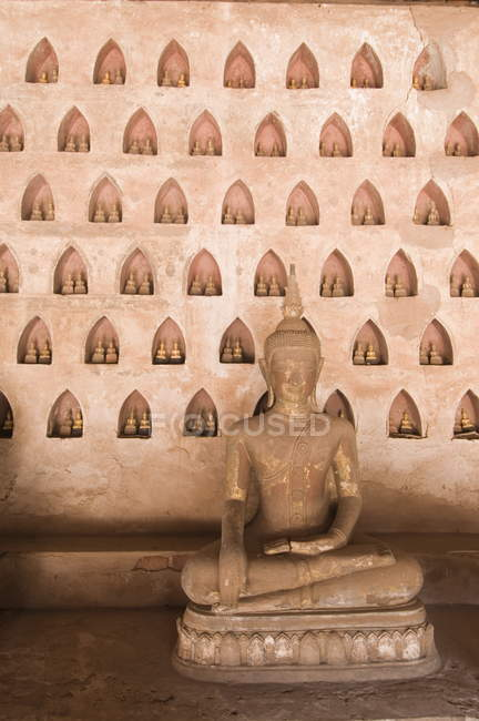 Wat Si Saket, Vientiane, Laos — Stock Photo