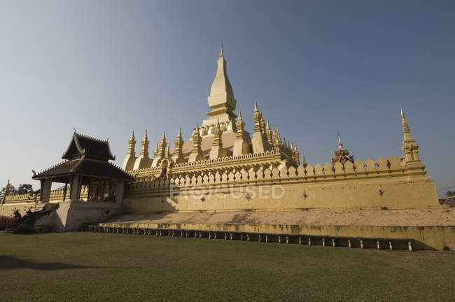 Pha That Luang, Vientiane, Laos — Stock Photo