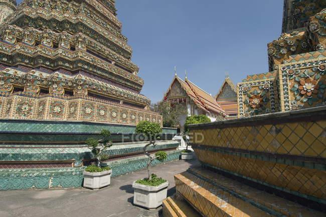 Wat Pho buddhistische Tempelanlage — Stockfoto