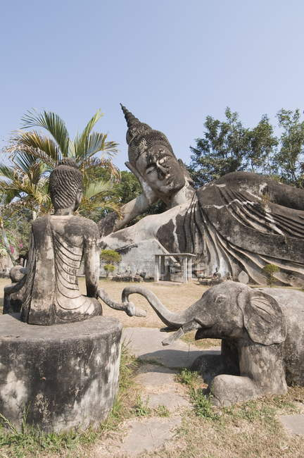 Buddha Park, Xieng Khuan, Laos — Stock Photo