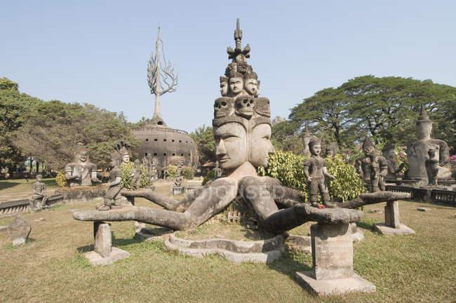 Buddha Park, Xieng Khuan, Laos — Stock Photo