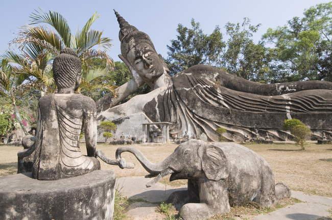 Buddha Park, Vientiane, Laos — Stockfoto