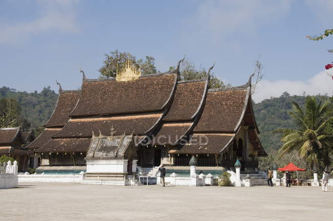 View of Wat Xieng Thong — Stock Photo