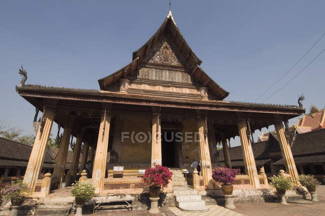 View of Wat Si Saket — Stock Photo