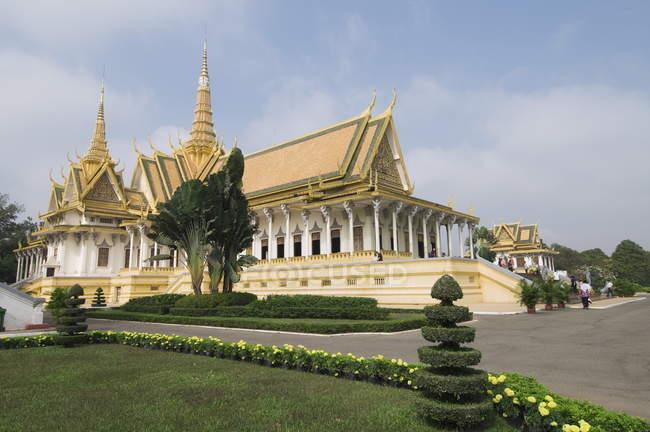 Sala del trono, il Palazzo reale — Foto stock