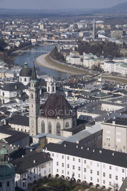 Blick auf Salzburg, Österreich — Stockfoto